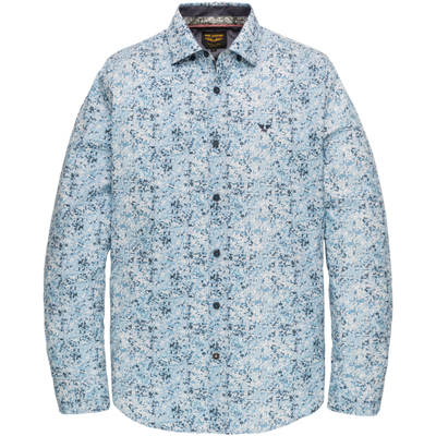 PME Legend Overhemd Poplin Blauw PSI201218-5177