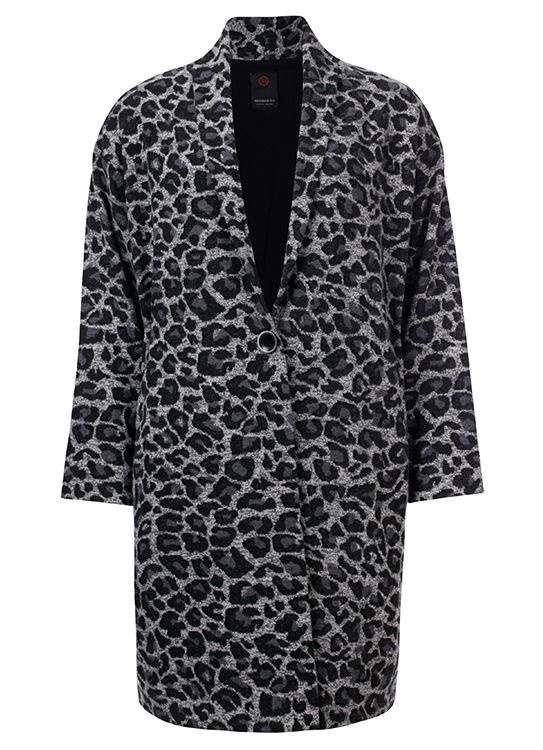 Penn & Ink Jas W19N584B Animalprint