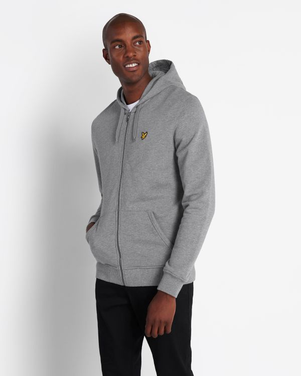 Lyle & Scott Hoodie Zip Through