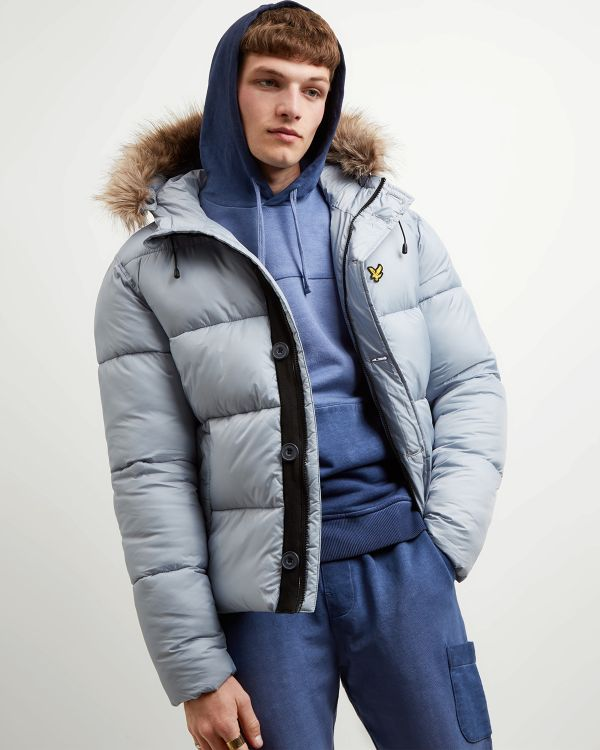 Lyle & Scott Bomber Hooded
