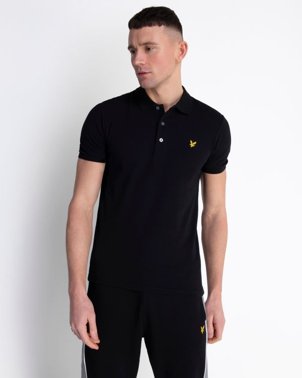 Lyle & Scott polo zwart SP919V-Z865