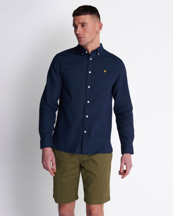 Lyle & Scott Overhemd Linen