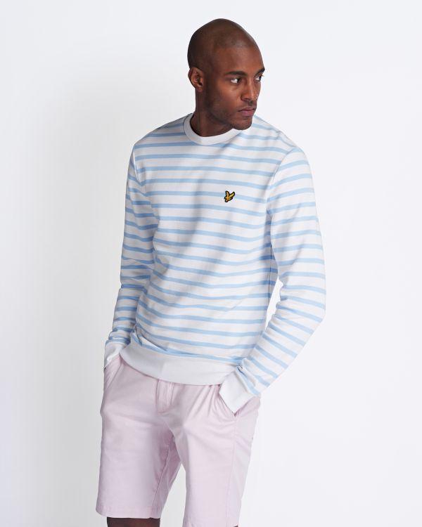 Lyle & Scott Sweatshirt Breton Stripe