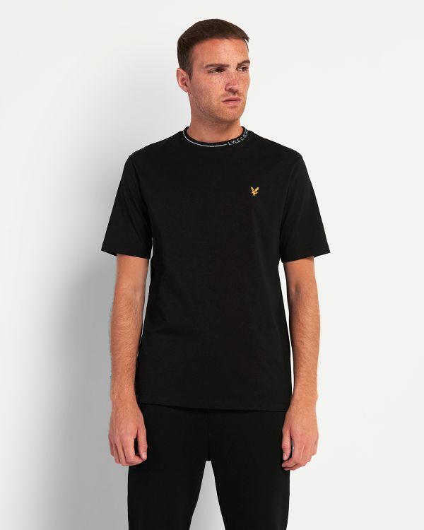 Lyle & Scott Branded Ringer T-shirt