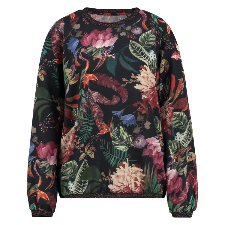In Shape Top Allover Floral Print