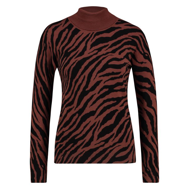 In Shape Trui Col Zebra