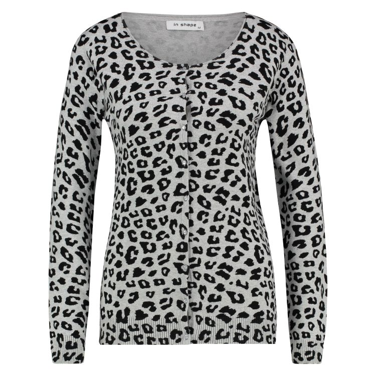 In Shape Vest Leopard