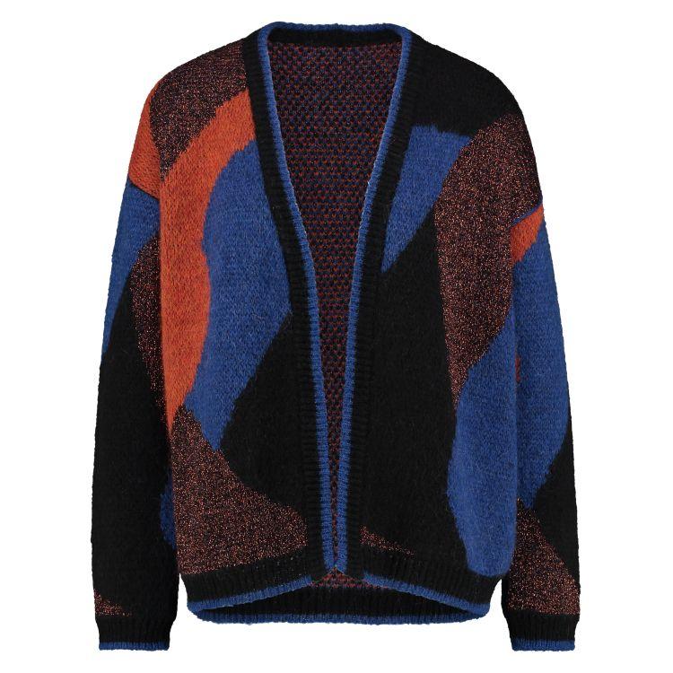 In Shape Vest Fancy Color Block