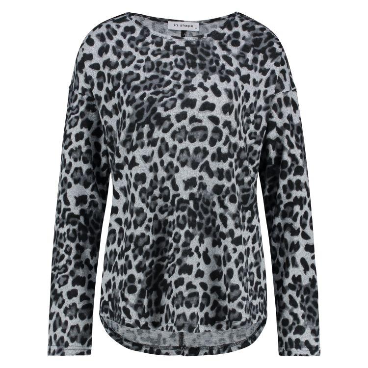 In Shape Top Knit Leopard