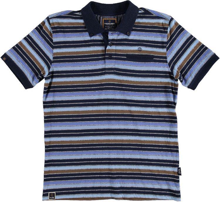 Fellows Polo KM Classic Stripes