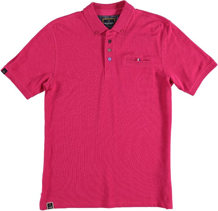 Fellows Polo KM Solid Coloured Buttons