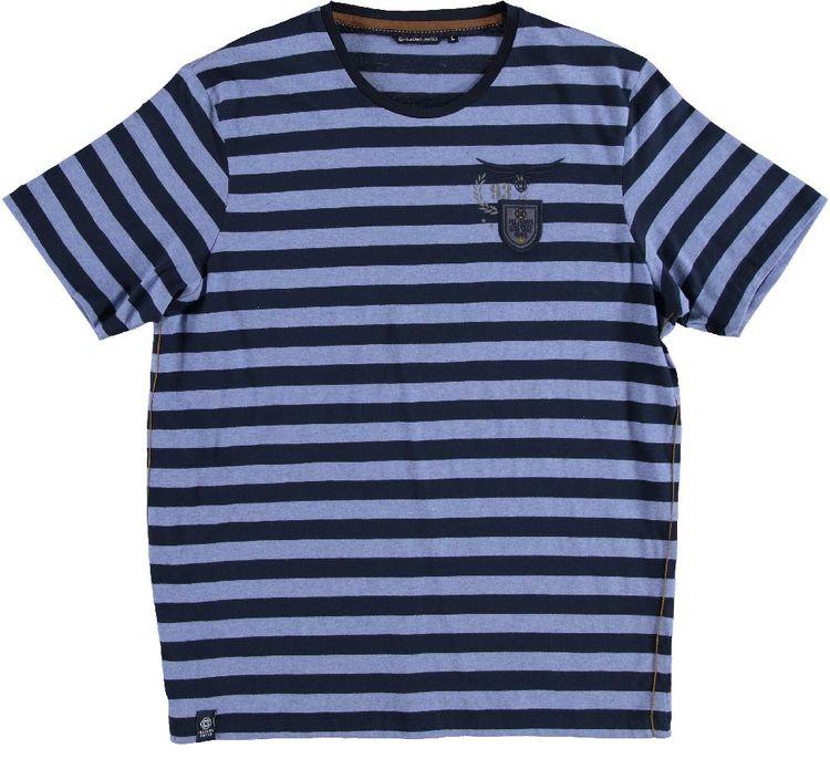 Fellows T-Shirt KM Crew Neck Stripes