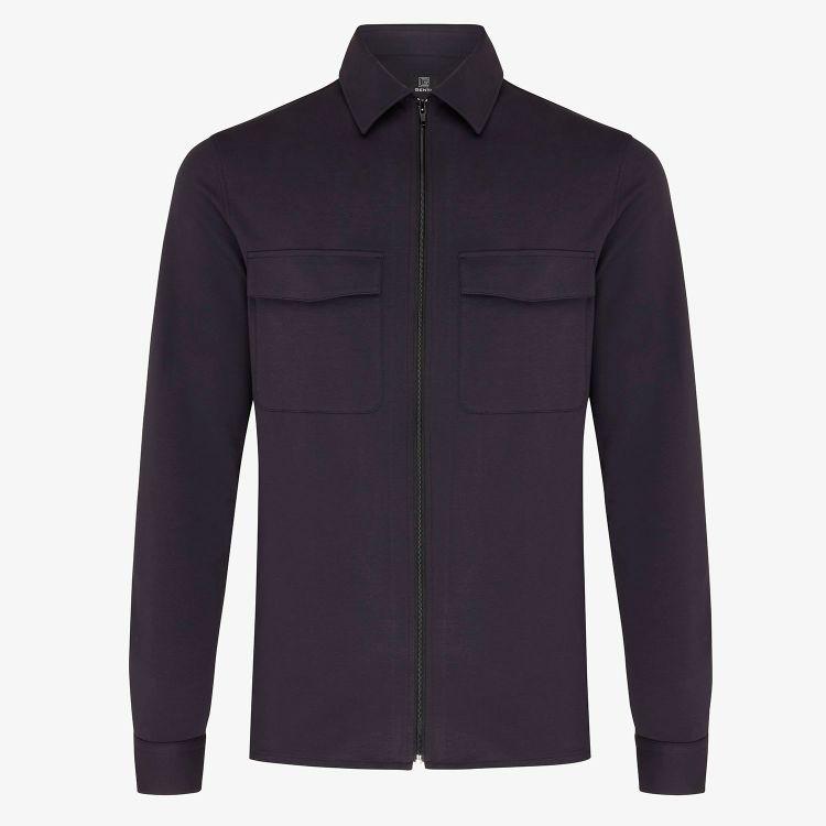 Genti Overhemd OAKS SHIRT JACKET ZIP