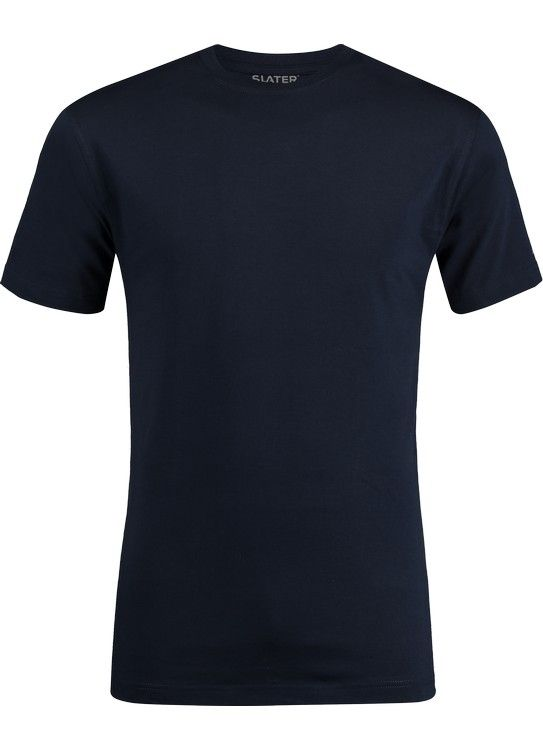 Slater T-Shirt R-Hals Basic 2-pack