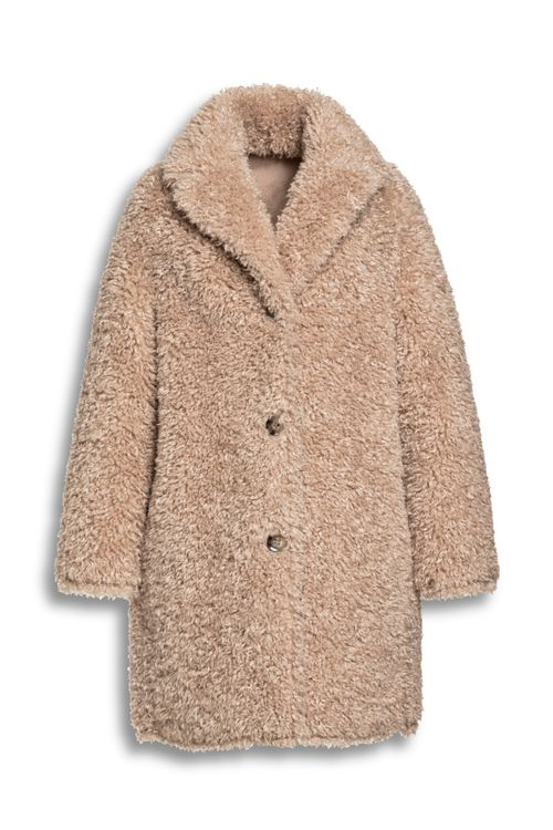 Beaumont Curly lammy coat