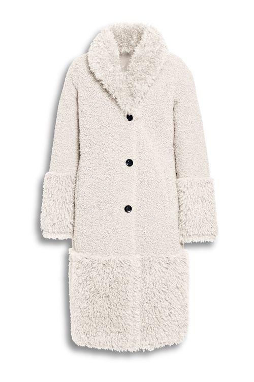 Beaumont Mix lammy reversible long coat