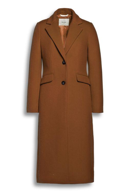 Beaumont Wool blend long blazer coat