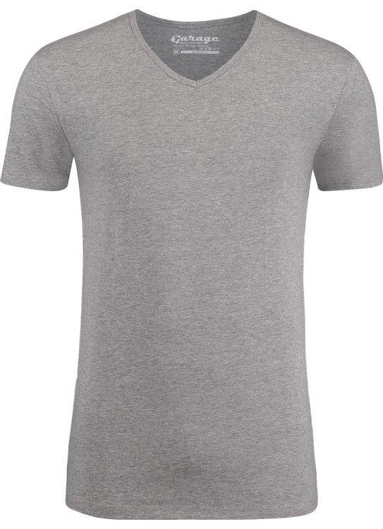 Garage T-Shirt V-Neck bodyfit