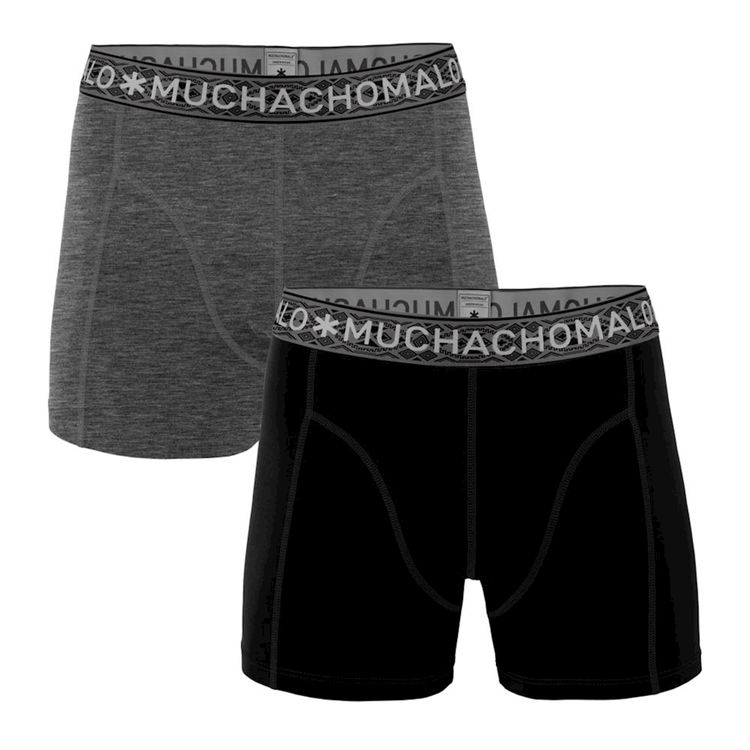 Muchachomalo Boxer 2-Pack Solid