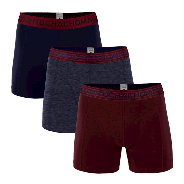 Muchachomalo Boxer 3-Pack Solid