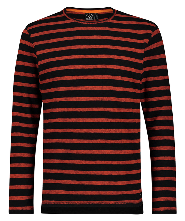 Kultivate T-Shirt LM Winter Stripes
