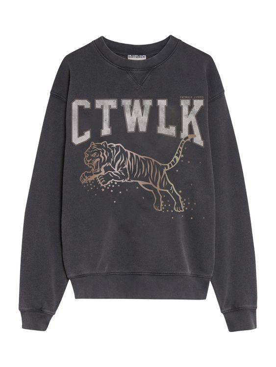 Catwalk Junkie Sweater Jumping Tiger