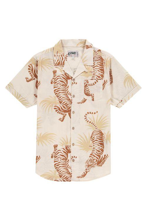 Kultivate Overhemd KM Tiger