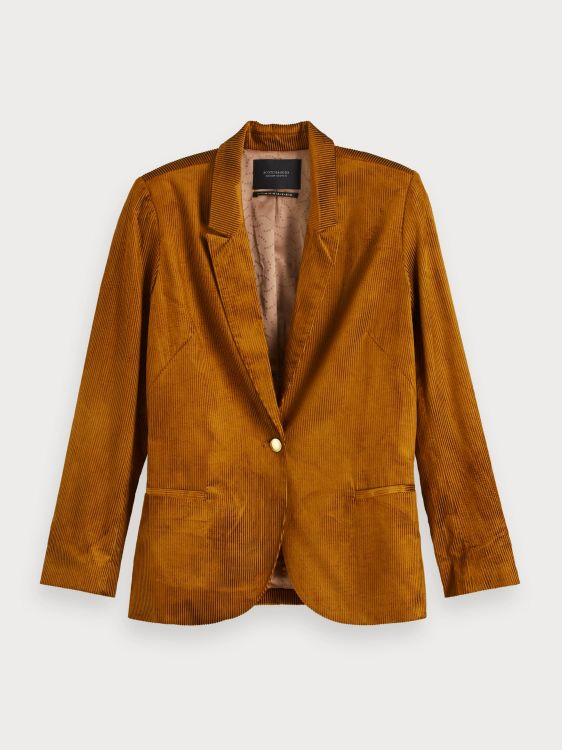 Maison Scotch Blazer Shiny Corduroy