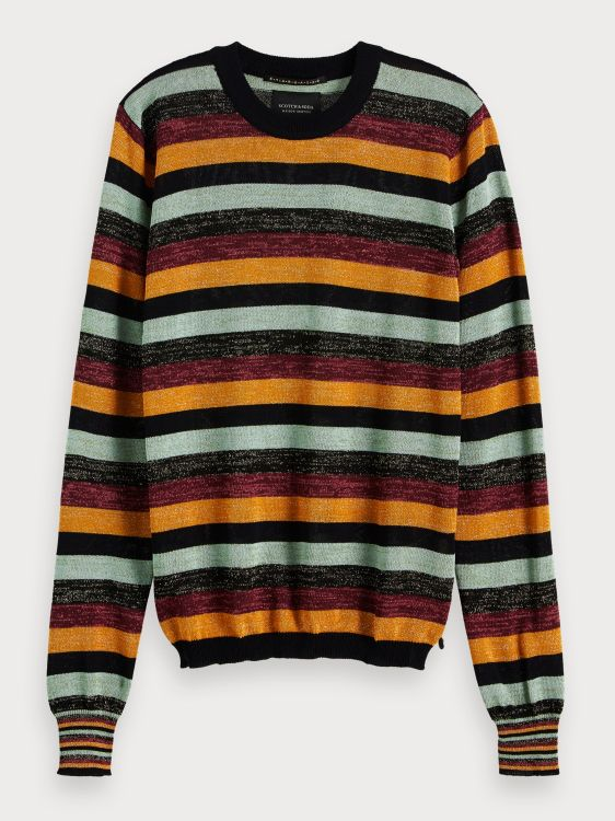 Maison Scotch Trui Lurex Stripe