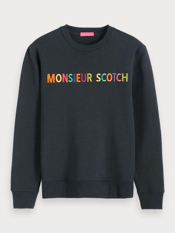 Scotch & Soda Sweater Logo Crewneck