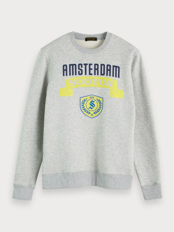 Scotch & Soda Sweater Logo Crewneck