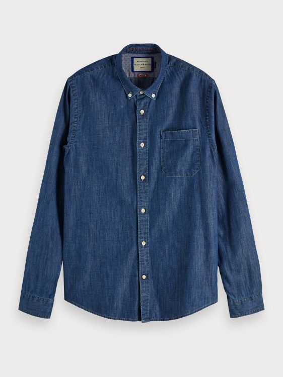Scotch & Soda Overhemd Button down Den