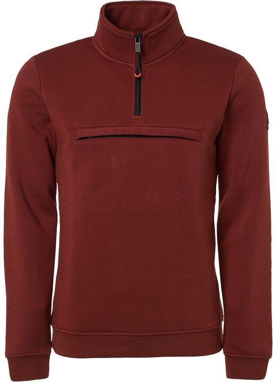 No Excess Sweater Half Zip Pocket