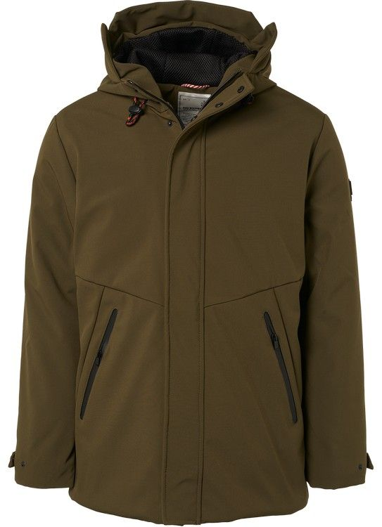 No Excess Parka Hooded