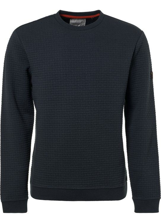 No Excess Sweater Double Layer Jacquard