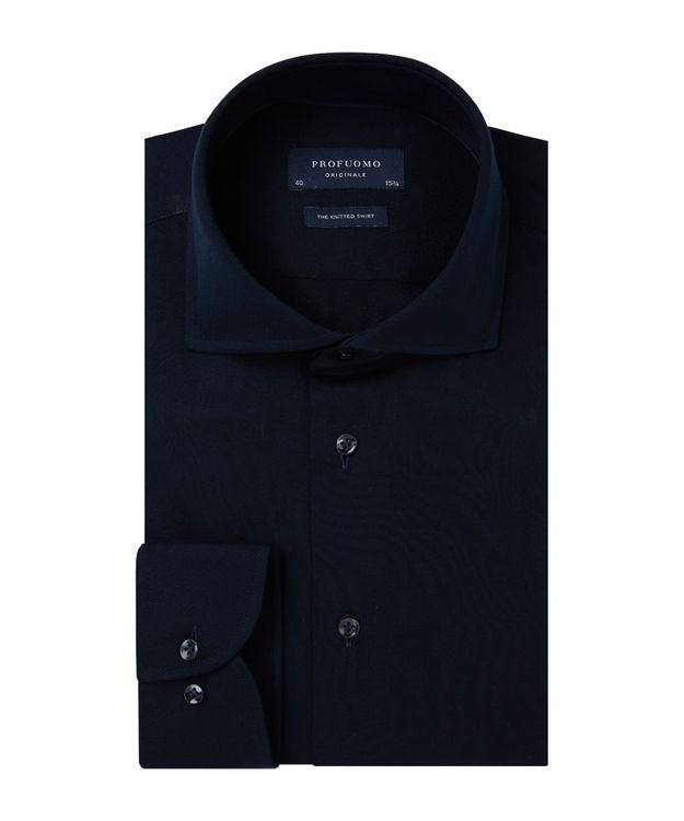 PROFUOMO OVERHEMD PP0H0A054-NAVY