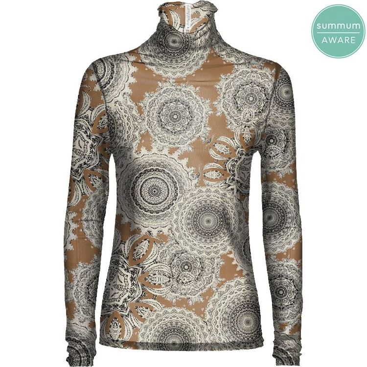 Summum Top LM Paisley 3s4484-30186