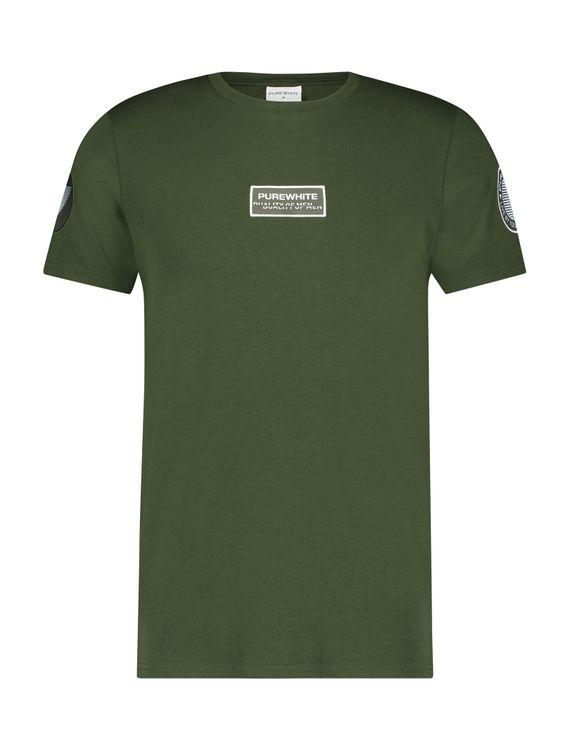 Purewhite T-Shirt KM 21010103