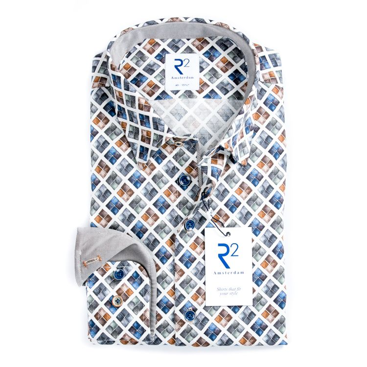 R2 Overhemd 110.HBD.039/014