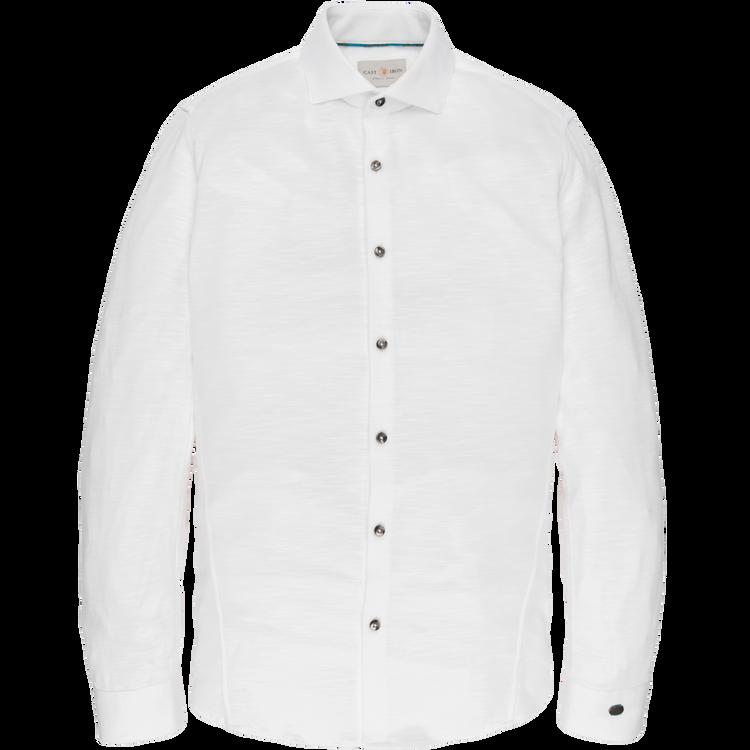 Cast Iron Overhemd Jersey Slub Pique