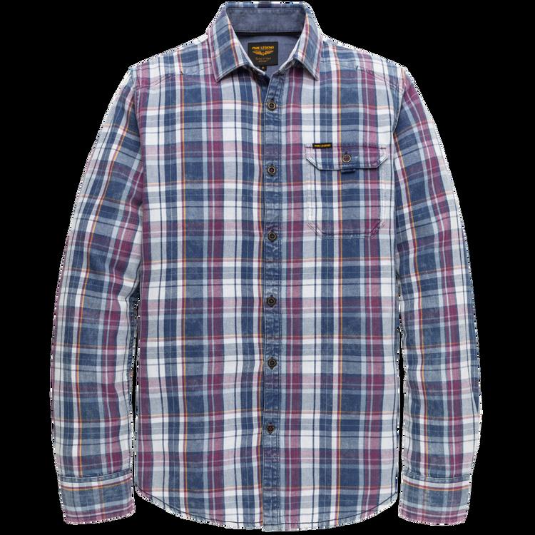 PME Legend Overhemd Indigo Check