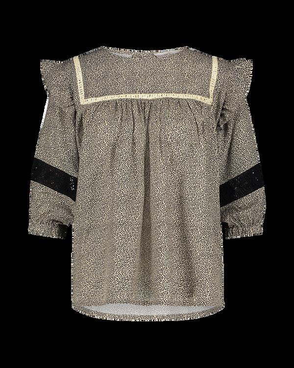 AAIKO T-Shirt KM CAILIN 2-TONE PES 502