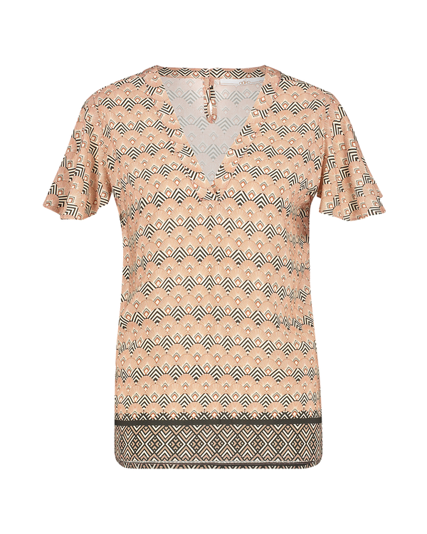 AAIKO T-Shirt KM ROELLE VIS 513