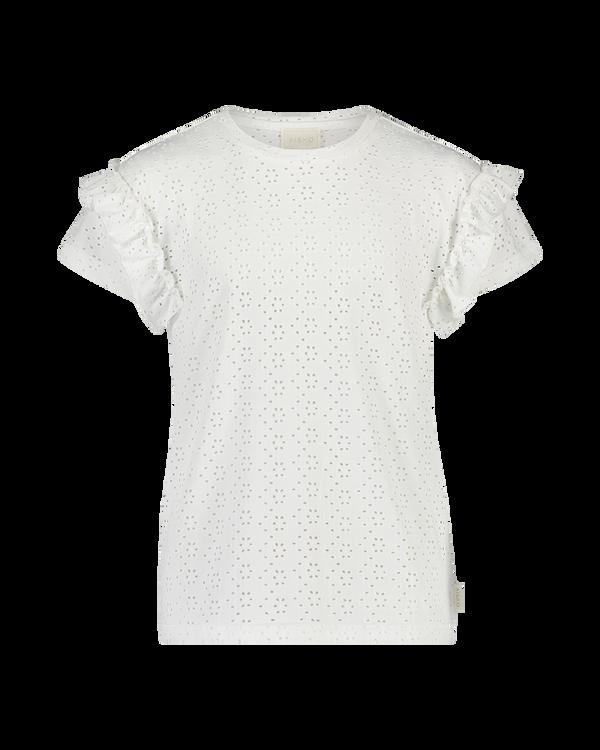 AAIKO T-Shirt KM SALLY BRODERIE PES 521