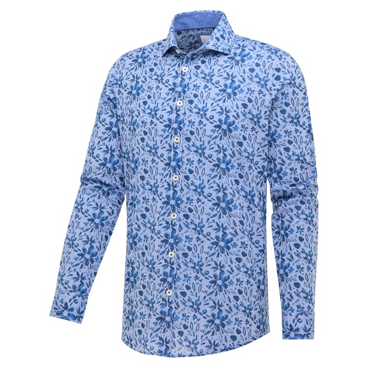 Blue Industry Overhemd LM 2316.11