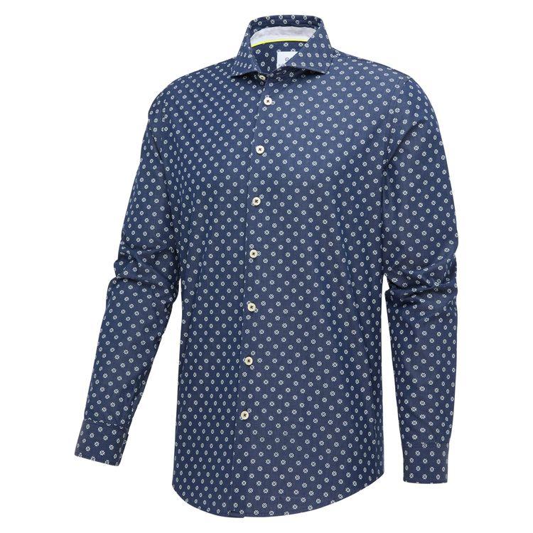 Blue Industry Overhemd LM 2348.11