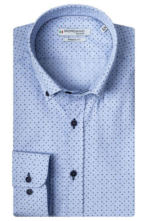 Giordano Overhemd LM Blues 207837