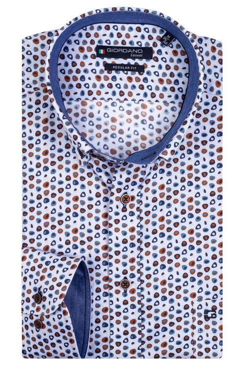 Giordano Overhemd LM Edward 207026