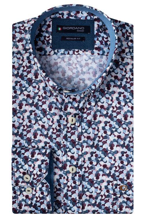 Giordano Overhemd LM Confetti 207012