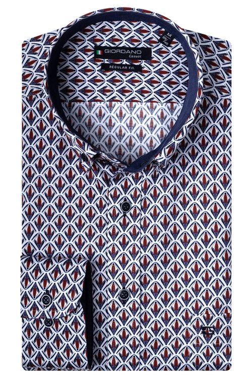 Giordano Overhemd LM Corn 207015